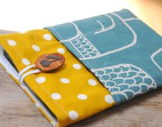 A great pattern for an e-reader slipcover... change dimensions to fit your reader