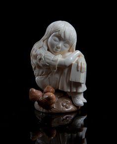 Александр и Елена Коптеловы. Резьба по кости мамонта. Часть 7. Алиса в стране чудес. (22 фото)