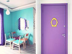 decoração apartamento pequeno colorido ju e giba 05