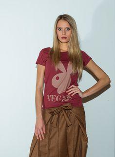 Tshirt in cotone bio VEGAN WS12T17-BOR