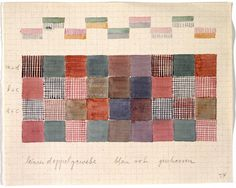 Gunta Stölzl - Bauhaus Master - design for double weave in linen