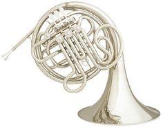 Hans Hoyer 6801 Heritage F/Bb Double Horn - nickel silver valve box