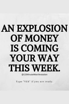 Attract money fast with my daily manifesting routine👇 Prosperity Affirmations, Money Affirmations, Positive Affirmations, Universe Art, Positive Thoughts, Positive Quotes, Manifesting Money, Law Of Attraction Affirmations, Law Of Attraction Quotes