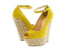 We love super wedges! Sexy shoes @ www.apronandheels.com