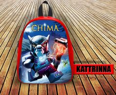 Chima Worriz Design for School Bag Backpack for Children Small size Middle size Large size