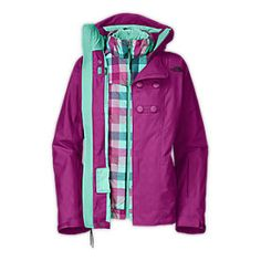 WOMEN'S PIXEY TRICLIMATE® JACKET - Northface - LOVE this jacket for ski season.