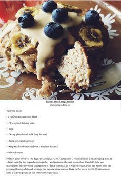 Banana bread mega muffin