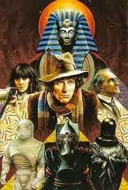doctor who art - pyramids of mars Doctor Who Books, Doctor Who Fan Art, Anubis, Sarah Jane Smith, 4th Doctor, Second Doctor, Sci Fi Tv Series, Classic Doctor Who, Actor John