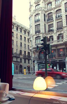 Un café en la Gran Vía