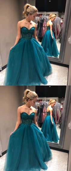 Sweetheart Beading A-Line Prom Dresses,Long Prom Dresses,Cheap Prom Dresses, Evening Dress Prom Gowns, Formal Women Dress,Prom Dress #sweetheartpromdresses #beadingpromdresses rom #dresses #longpromdress #promdress #eveningdress #promdresses #partydresses #2018promdresses
