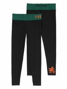 University of Miami Yoga Legging