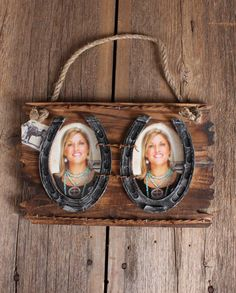 Hanging Western Double Photo Frame::Prints & Frames::Home & Office::Decor & Gifts::Fort Western Online