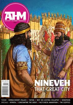 Radu Oltean. Sinnaherib in the palace of Nineveh.