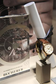Frédérique Constant remporte le Bucherer Watch Award 2015.