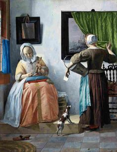 When it comes to Dutch artists, you probably know of Rembrandt and  Vermeer, but a man named Gabriel Metsu was once the darling of Dutch  painting. He has fallen out of the spotlight, but an exhibit at the National Gallery in Washington, D.C., is bringing the master back.