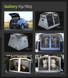 Transk9/B25 #dogcage #dogbox #dogtransitbox protect your car & transport your dogs safely & securely www.transk9.com