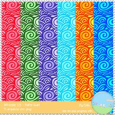 #Freebie 13 - Papel Swirl