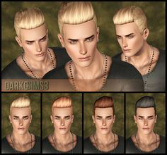 DarkoSIMS3: Agustin Elvis Hair