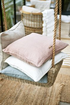 Search results for: 'lovely linen' Ibiza, Dream Beach Houses, Natural Linen, Light Shades, Home Interior, Pink Color, Louis Vuitton Damier, Bed Pillows, Beige