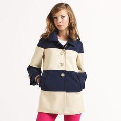 Kate Spade Nera Coat Cute Coats, Le Jolie, Striped Jacket, Kate Spade  Designer babd1b6c58e