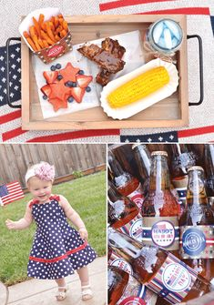 Vintage Americana 4th of July Party {& BBQ Picnic}