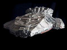 Original Battlestar Galactica Ship | To contact Marko direct regarding this fantastic piece, please click ...