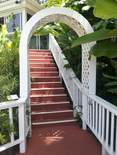 Thomas located on a mountain top and enjoyed the caresses of the Tradewinds. Amazing trip and sights in August on board Freedom of the Seas. Freedom Of The Seas, Cruise Vacation, Botanical Gardens, Stairs, August 2014, St Thomas, Ship, Amazing, Mountain