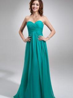 Turquoise beach bridesmaid dress