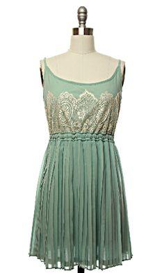 Mint Julep Dress - Lace Affair