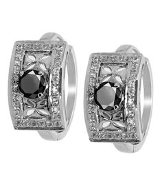 3 CT BLACK DIAMOND SOLITAIRE STUDS WITH CUSTOMIZED OPTION OF ACCENTS Black Diamond Studs, Black Diamond Earrings, Chain Earrings, Colored Diamonds, 925 Silver, Amethyst, Rings For Men, White Gold, Gemstones