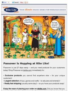 Passover is (S)Hopping at Rite Lite!
