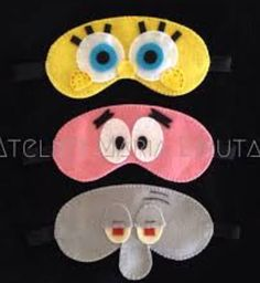 Hobbies And Crafts, Diy And Crafts, Crafts For Kids, Arts And Crafts, Cute Sewing Projects, Sewing Crafts, Embroidery Designs, Monster Mask, Felt Pillow