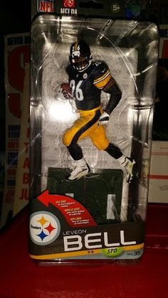 11224524f McFarlane Toys NFL Series 35 Le Veon Bell Action Figure for sale online