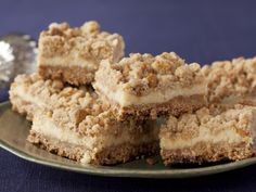 Food Network invites you to try this Oatmeal Cream Cheese Butterscotch Bars recipe from Anne Burrell.