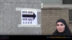 Undercover PV Journalist in Full Burka Is Offered Huma Abedin?s Ballot