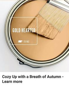 http://www.behr.com/colorfullybehr/color-month-gold-hearted/#sthash.wilhlsKW.Q1I1m17U.dpbs #shadesofpaintcolours