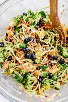 How to Make the Best Broccoli Salad | foodiecrush.com