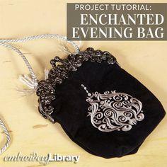 Enchanted Evening Bag  (PR1555) from www.Emblibrary.com