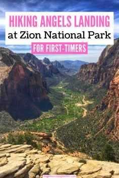 Is hiking Angels Landing on your Zion National Park bucket list? It's one of Zion's top hikes! Use this guide to see what to expect and be prepared for your hike up!