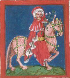 Jacobus : Das Schachzabelspiel, in deutsche Prosa übertragen 1407  Cgm 49  Folio 21v