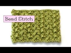 v e r y p i n k . c o m » Fancy Stitch Combos – Bead Stitch