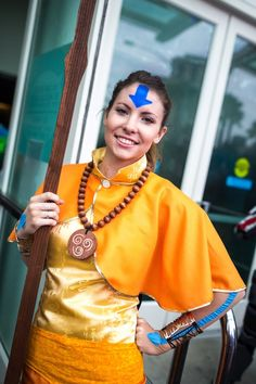 Lady Aang, Avatar: The Last Airbender. #Rule63