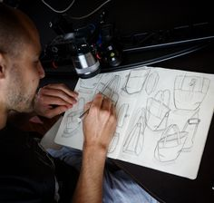 Peak Design- Everyday Bag line by Art Viger Everyday Bag, Industrial Design, Line, Sketches, Draw, Cool Stuff, Bags, Drawings, Handbags