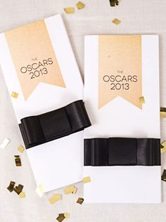 Oscar Themed Party