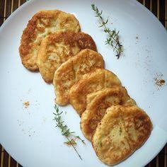 Kuchnia raz! : Tymiankowe placuszki z cukinii i mascarpone