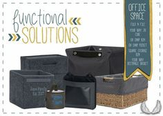 Thirty-One Functional Solutions - Office Space
