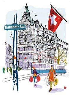 Zurich shopping