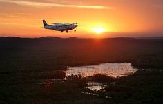 Crystalbrook Lodge Outback Queensland lake flight