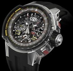 Richard Mille RM 039 Aviator E6-B Tourbillon Flyback: For Pilots. not even sure i know where to begin with this watch.