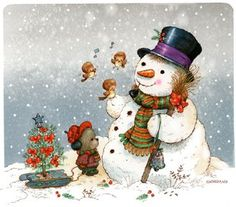 *SNOWMAN ~ *Greg Giordano*
